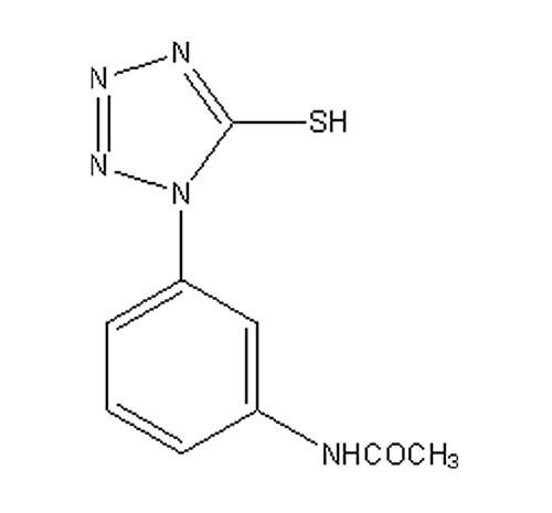 1-(间-乙酰氨基苯基)-5-巯基四氮唑